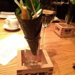 ノブトウキョウ - 野菜の海苔巻き
