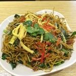 添好運 - ④Stir-Fried chow Mein in Soy Sauce (醤油焼きそば)128NT$