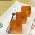 添好運 - ⑤Tonic Medlar & Osmanthus Cake(3pcs) (カリンとキンモクセイのゼリー)78NT$