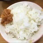 そば処玉家 - 油味噌ご飯(クーポンサービス)