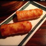 49235277 - きりたんぽの味噌焼☆
