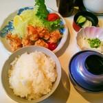 稲穂 - 鶏のから揚げ定食