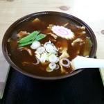 梅本 そば店 - 料理写真:カレー南ばん¥650