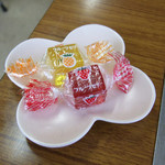 おいでなし亭 - 食前のおもてなしゼリー 2016.3