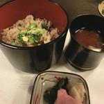 美さご - 炊き込みご飯&赤だし&漬物