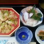 白井商店幸邦丸 - ほっき飯定食