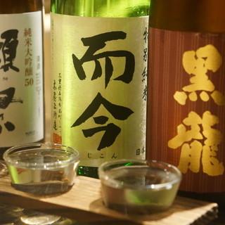 プレミアム日本酒や焼酎を味わって頂きたい!