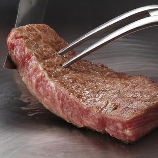 横浜 うかい亭 - 料理写真:うかい特選牛ステーキ