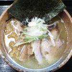 麺や 琥張玖 KOHAKU - 塩らーめんのアップ