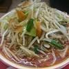 龍龍タンメン - 料理写真:赤タンメン、野菜盛