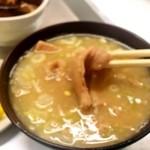 一休食堂 - 煮込み定食(にこみ汁)