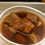 一休食堂 - 煮込み定食(牛皿)