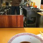 中華そば 麺屋7.5Hz - 汁は飲みきれんよ…>_<…凄いもん!