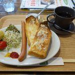 味彩館 みきや - 料理写真:モーニングセット:480円(税別