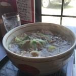 麺乃匠 いづも庵 - 淡路牛肉うどんっ!