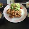 鹿北ゴルフ倶楽部 - 料理写真:中華風からあげ定食 差額=プレー代込です。