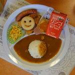 CoCo壱番屋 - B.フライドチキン(リンゴジュース)(450円)(2010/08/12)
