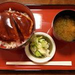 小角食堂 - ミニかつ丼。