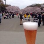 上島珈琲店  - 2016.4  上野公園の屋台でシャンドン ロゼ  600円