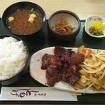 ともしげ - ソフト焼肉定食 ご飯大盛り 1288円