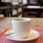 カサデペロ - ドリンク写真:いただいたホットコーヒー