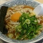 丸源ラーメン - 熟成醤油ネギラーメン