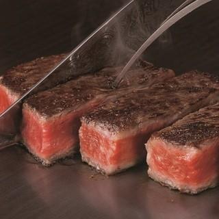 八王子うかい亭 - 料理写真:うかい特選牛ステーキ