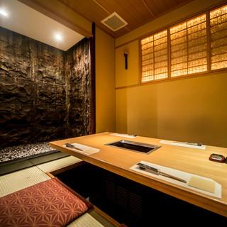 【完全個室】堀ごたつ席でゆったり寛ぐ大人の空間