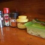 ししまる食堂 - テーブル上