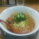 まるたん - 料理写真:「白ごま担々麺 3辛」780円税込
