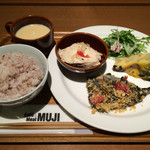 Cafe&Meal MUJI - 選べるDELI4品+十穀米