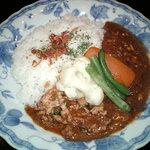 本石亭 - インド風カレー+温野菜
