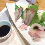 ほざき - 刺し身(清水鯖)