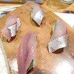 ほざき - にぎり(清水鯖)
