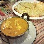 インド料理 ダルバール - マトンモグライ(羊肉と玉子の入ったカレー)