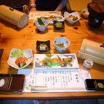 和の宿 狭霧亭 - 料理写真:夕食