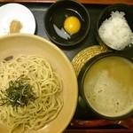 元喜神 - 2016年2月 鶏白湯つけめん 800円