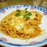 49285979 - イタリアントマトとモッツァレラチーズ¥790