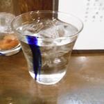 居酒屋すな川 - 久米仙30度ロック