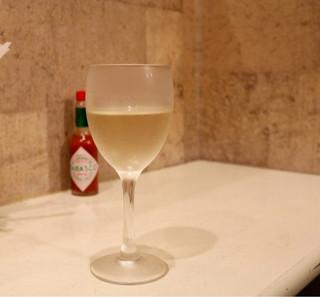 パスタひろば - グラスワイン白
