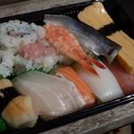 お魚倶楽部 はま - 2016.4 にぎり