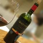 串揚 カラット - 料理長オススメ  チリ産 重めの赤ワイン