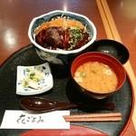 花ごよみ - 味噌カツ丼(税込799円)