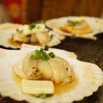 赤羽 トロ函 - ホタテバター貝焼き(クーポン)