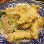 居酒屋おそ松 - 鶏肉天ぷら  味は普通