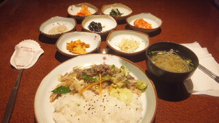 チャムナム家 - プルコギ丼