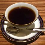 カフェ バーンホーフ - グアテマラSHBサンタバーバラ(650円)。深い味わいがあるコーヒー(らしい)。