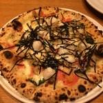 トラットリア&ピッツェリアDai - ピザ 名前忘れました。明太子が使われてて美味しい!