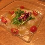 トラットリア&ピッツェリアDai - 鮮魚のカルパッチョ