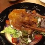 旬鮮炭火焼 獺祭 - H28.04.01 広島産 カキの唐揚げ「カキ」リフト